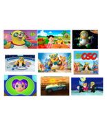 9 Special Agent Oso Stickers, Party Supplies, Decorations, Favors,Gifts,... - $8.99