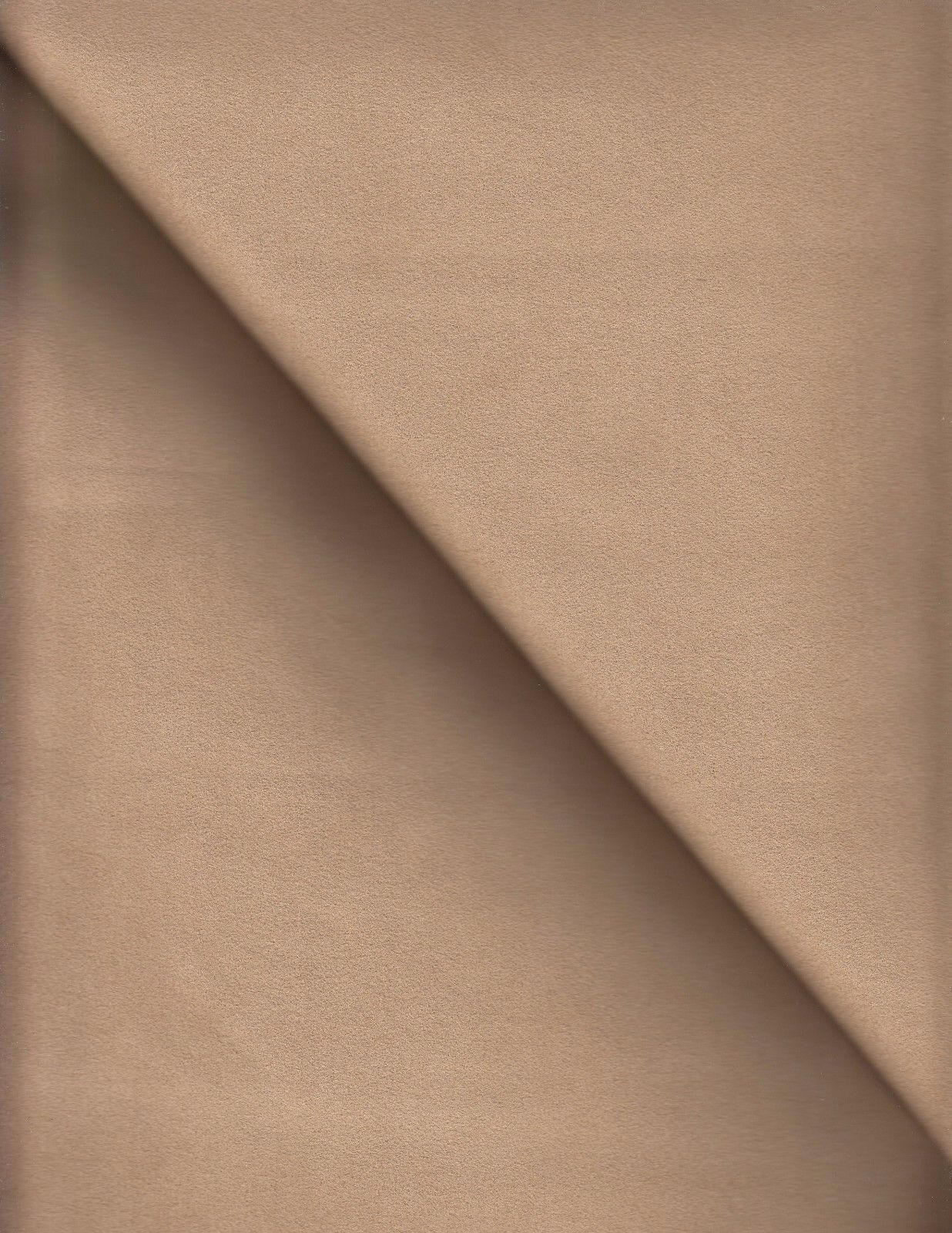 1.125 yds Toray Upholstery Fabric Ambiance Ultrasuede New Saddle Tan EJ
