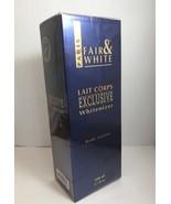 FAIR & WHITE LAIT CORPS EXCLUSIVE WHITENIZER BODY LOTION 17 fl.oz (500ml) - $48.50