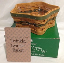 Longaberger 2001 Tree Trimming Basket Twinkle Twinkle w/ Protector New in Box - $19.60