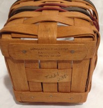Longaberger 1993 Inaugural Basket w/ Protector - $19.60