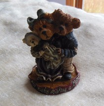Boyd's Bears Momma & Poppa McNewBear with Baby Bundles-Bearstone #227731 - $25.73