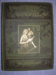 1884 TWENTY POEMS from LONGFELLOW illustrated poetry
