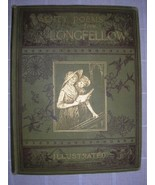 1884 TWENTY POEMS from LONGFELLOW illustrated poetry - $75.00