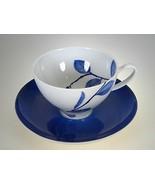 Mikasa True Blue Cup & Saucer - $6.76