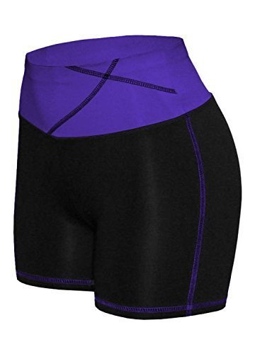 W Sport Women's Moisture Wick Skinny Athletic Yoga or Running Shorts, X-Large