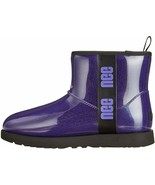 UGG Classic Clear Mini Violet Night Women's Waterproof Ankle Boots 1113190 - $129.00