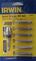 Irwin 1885551 7 Piece Quick Change Bit Set - $9.90