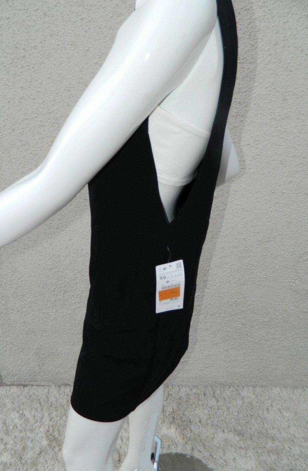 2be7008074c05a NWT Zara Basic Dress Black   White Side and 50 similar items. 57