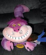 "CHESHIRE CAT 12"" PLUSH WITH TAGS DISNEY STORE BEST IN SHOW ALICE IN WONDERLAND"