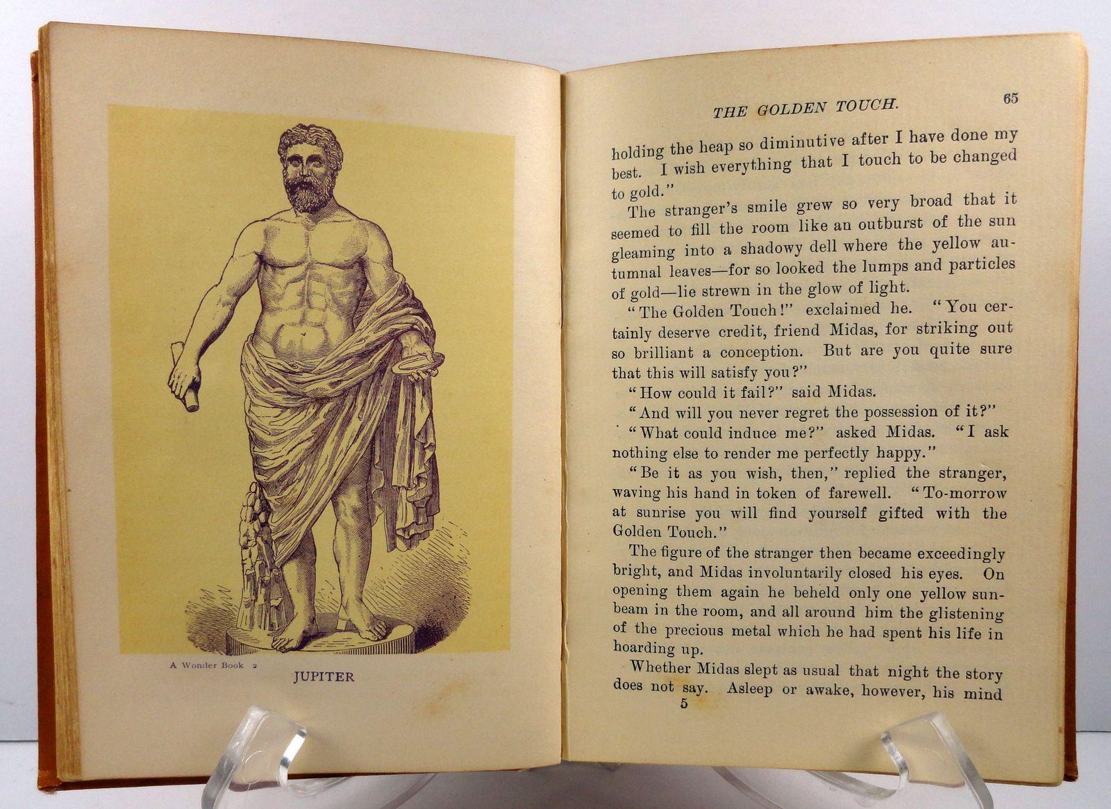 A Wonder Book by Nathaniel Hawthorne Henry Altemus