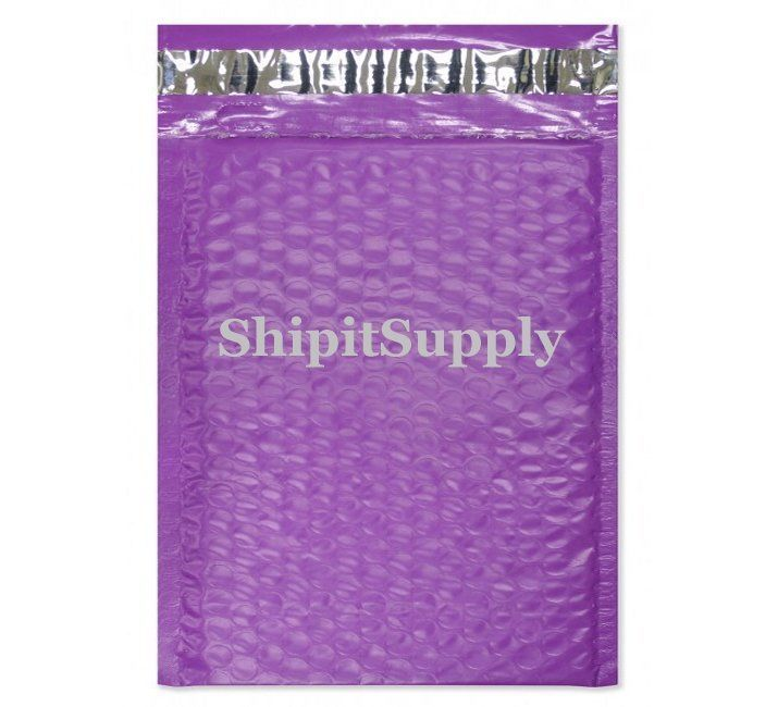 1-500 #0 6x10 Poly ( Purple ) Color Bubble Padded Mailers Fast Shipping
