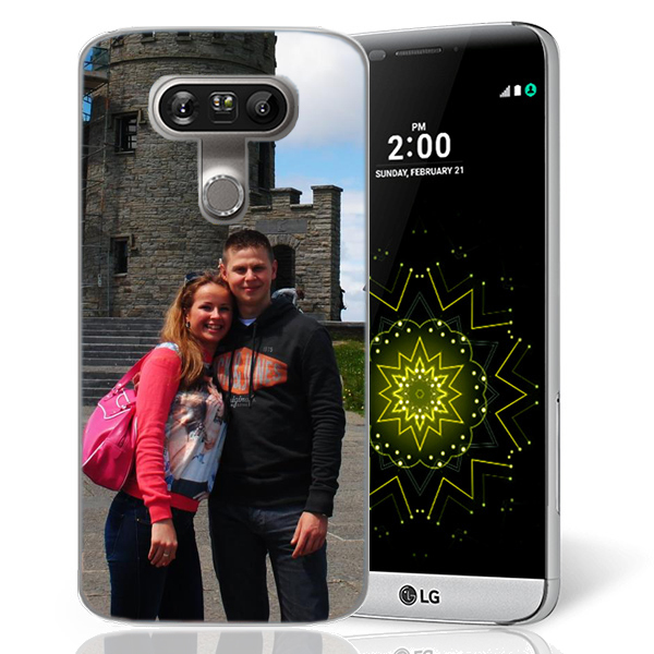 Lg G5 - Personalised Soft Rubber Case - Black, White or transparent colours
