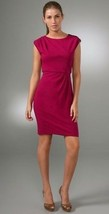 DIANE von FURSTENBERG MARCHONA HOT PINK DRESS - US 12 - UK 16 - $170.14