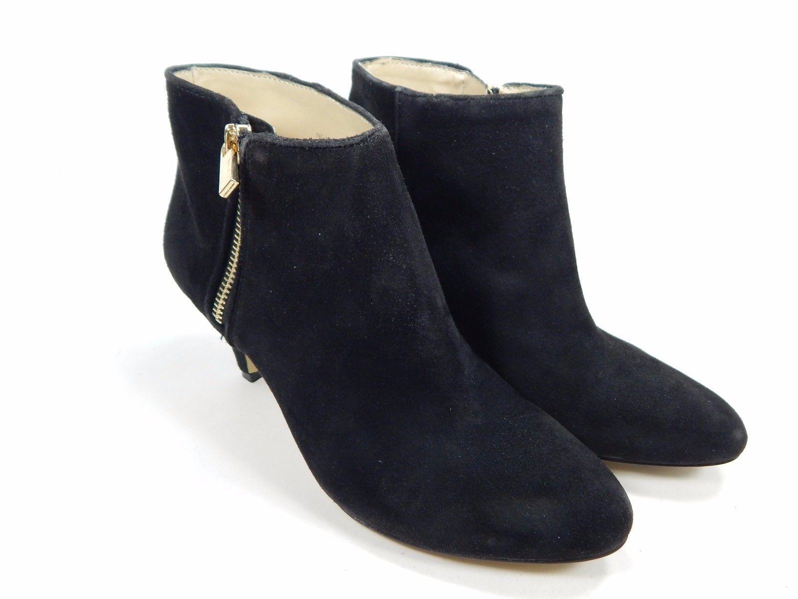 INC International Hali Suede High Heels Bootie Women's Size US 6  Black