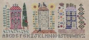 Sampler Row cross stitch chart The Workbasket