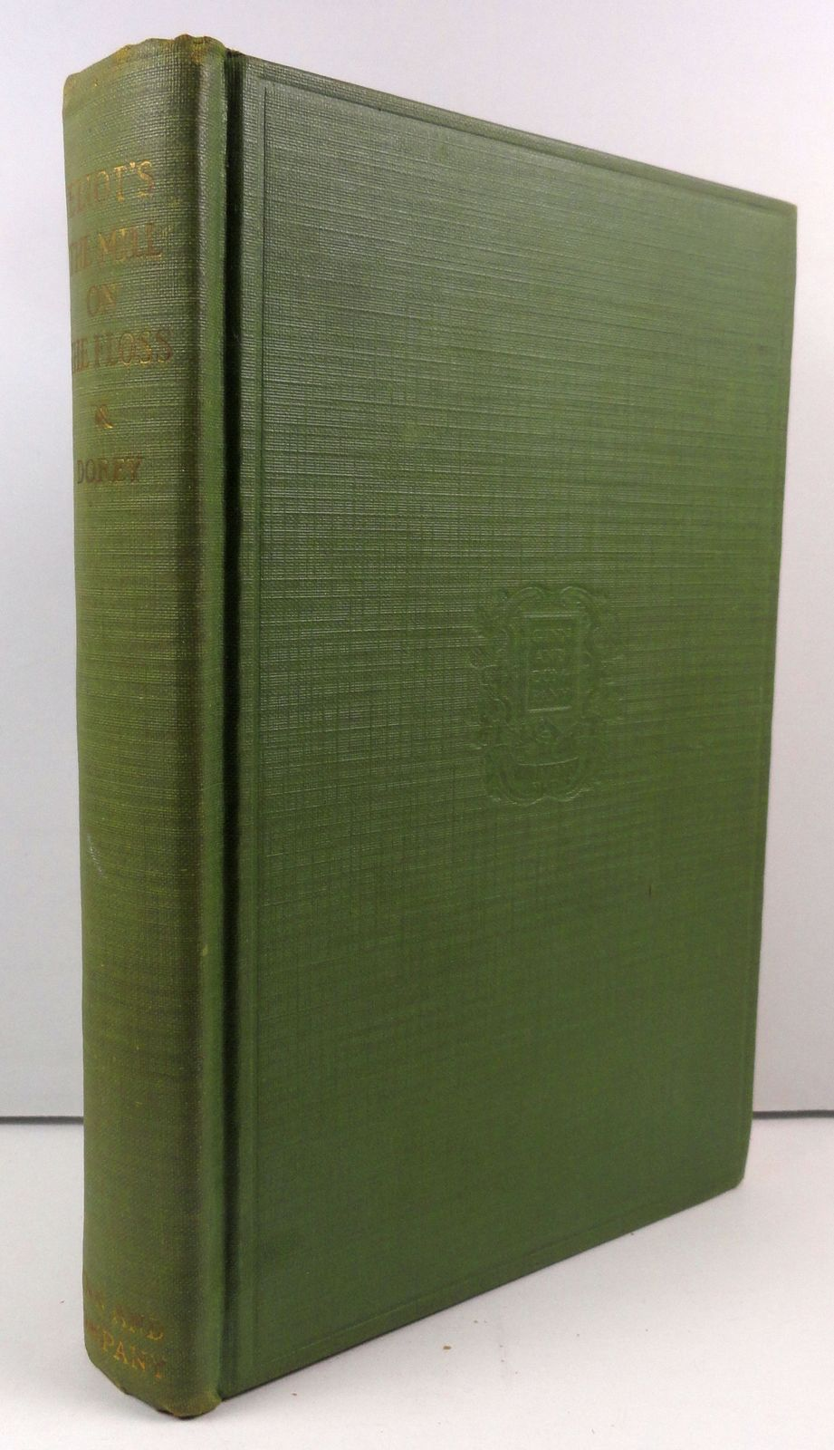 The Mill on the Floss by George Eliot, J. Milnor Dorey Editor