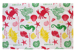 Cotton Kitchen Towels Under the Sea 2/pack - $8.59