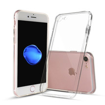 For iPhone 7 Clear Case Thin TPU Rubber Transparent Soft Silicone Shockp... - $1.87+