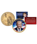 DONALD TRUMP for 45th President Official Colorized 2016 Presidential $1 ... - £6.63 GBP