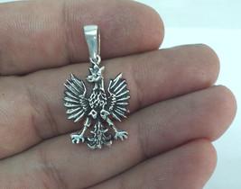Eagle, Eagle Necklace, German Eagle Pendant, Silver Eagle Necklace, Bundesadler  - $45.00