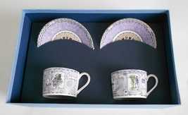 Wedgwood Millennium Tea Cup Set  20th Century Progress and Peace - $50.00