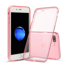 For iPhone 7 Plus Clear Case Thin Rubber Transparent Soft Silicone Shock... - $1.87+