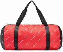 Victoria's Secret Pink Packable Duffle Bag Gym Bag Red Logo NWT - $43.48