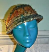 COOL SCOTTISH MOHAIR & WOOL BRIGHT TWEED DEER STALKER CAP HAT COUNTRYSID... - $23.37