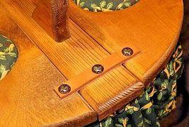 Picnic BasketAA18-1230 Vintage Handmade Lined Woven image 7