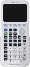 Texas Instruments TI-84 Plus CE Graphing Calculator, White - $167.28