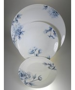 Royal Worcester Blue Peony Dinner, Salad And Bread & Butter Plate NEW WI... - $17.77