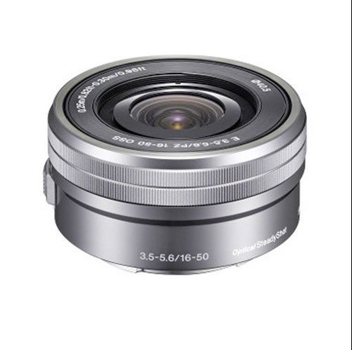 Sony SELP1650 16-50mm Power Zoom Camera Lens Silver No retail box NEW