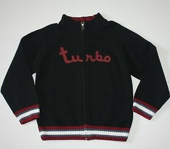 Gymboree Built For Speed Turbo Cardigan Sweater S 5 6 - $9.99