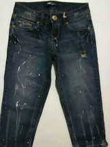 Tyte American Standard Brand New  Distressed Capri Jeans Junior's Size 3 - $17.99