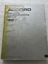 B 1987 Honda Accord Electrical Troubleshooting Service Manual OEM Worksh... - $3.76