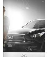 2014 Infiniti QX70 sales brochure catalog US 14 3.7 5.0 FX37 FX50 - $8.00