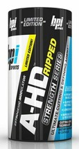 BPI Sports | A-HD RIPPED, Strength Series, Test Booster & Defining Agent... - $24.70