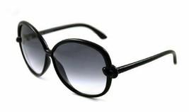Tom Ford INGRID 163 01B Black / Gray Gradient Sunglasses TF163 01B 62mm - $185.22