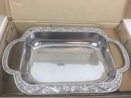 """Lenox Butler's Pantry Metal Baker Serveware 2 Qt Baker Holds 16 1/4"""" Gla... - $59.95"""