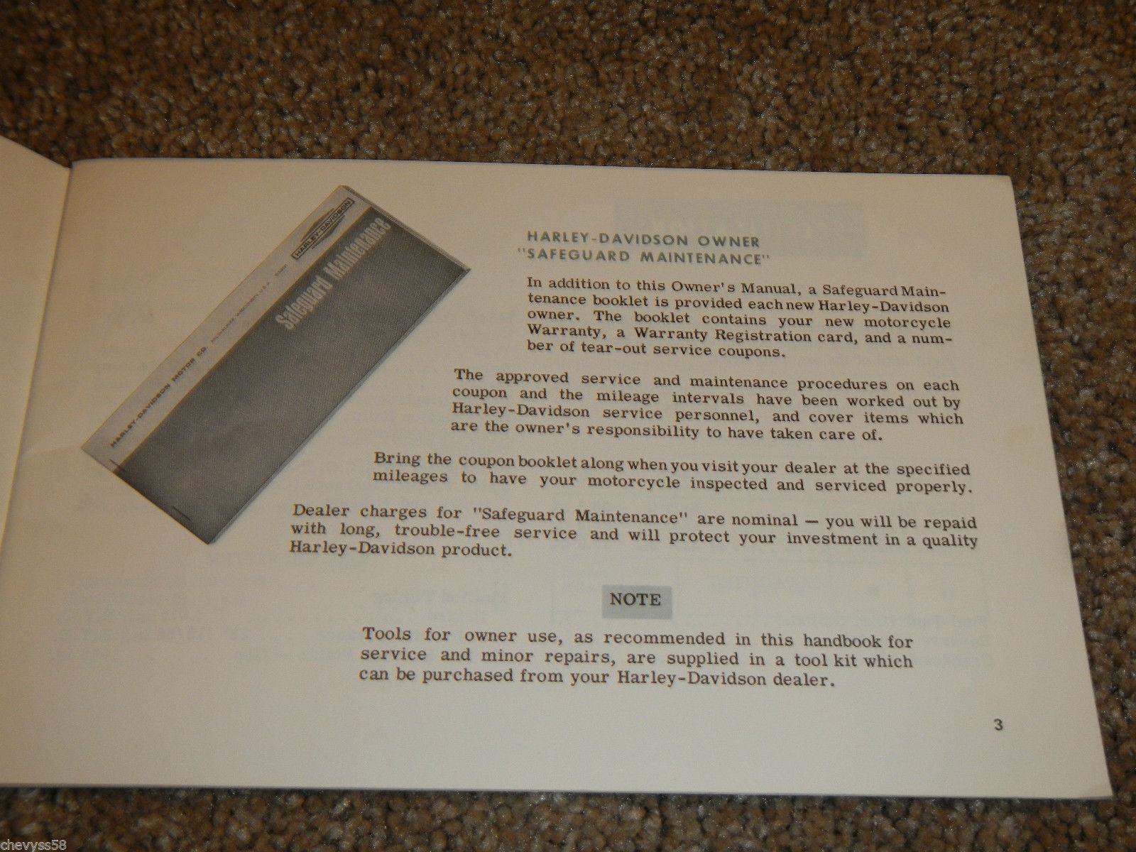 1972 72 Harley Davidson Sprint Amf Aermacchi and 50 similar items