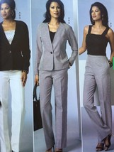 Butterick Sewing Pattern 6030 Misses Ladies Jacket Top Skirt Pants Size ... - $15.27