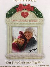 Hallmark Keepsake 2012 Our First Christmas Together Personalized Photo O... - $3.95