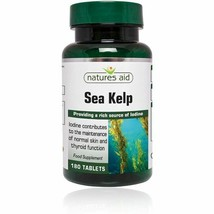 Sea Kelp source of iodine for  maintenance of normal thyroid functions a... - $11.26
