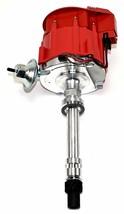 SBC Chevy 283 329 350 383 HEI Distributor & 8mm  SPARK PLUG WIRES image 2