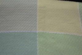 Vtg Baby Blanket The Three Weavers Pastel Plaid... - $28.04