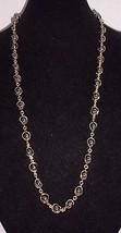 Vintage Gold Tone Metallic Hematite Beaded Necklace & Bracelet Set - $19.80
