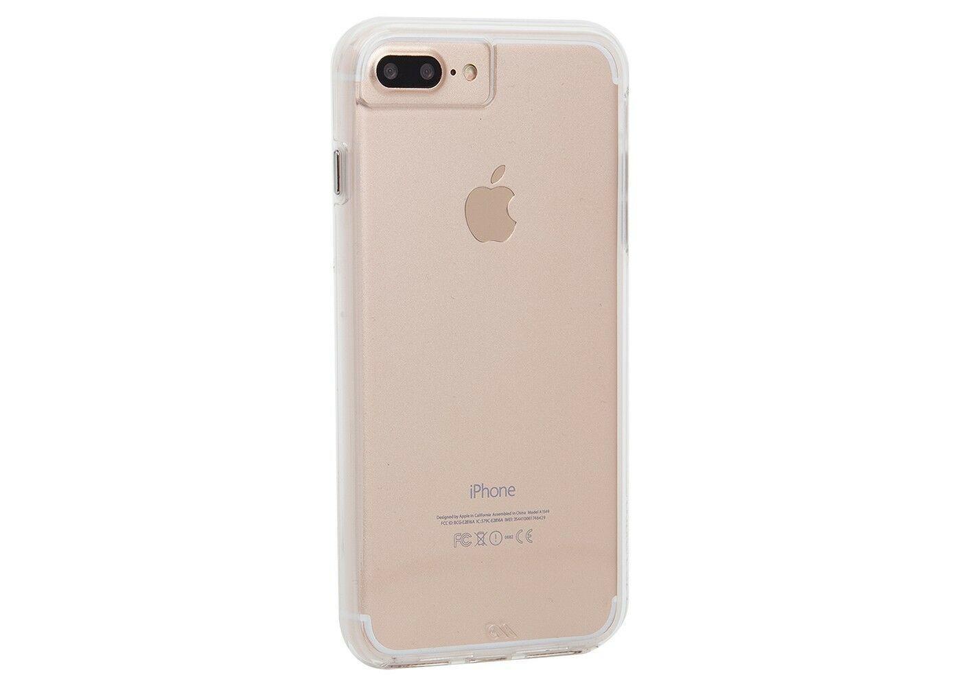 Case-Mate iPhone 8 Plus/7 Plus/6s Plus/6 Plus Case Naked Tough - Clear