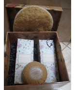 CRABTREE & EVELYN SPA PACKAGE, BODY LOTION, GEL, SOAP, LOOFAH MITT, SAVA... - $40.00