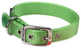 "Hamilton Double Thick Nylon Deluxe Dog Collar 1"" x 18"" - $16.99"